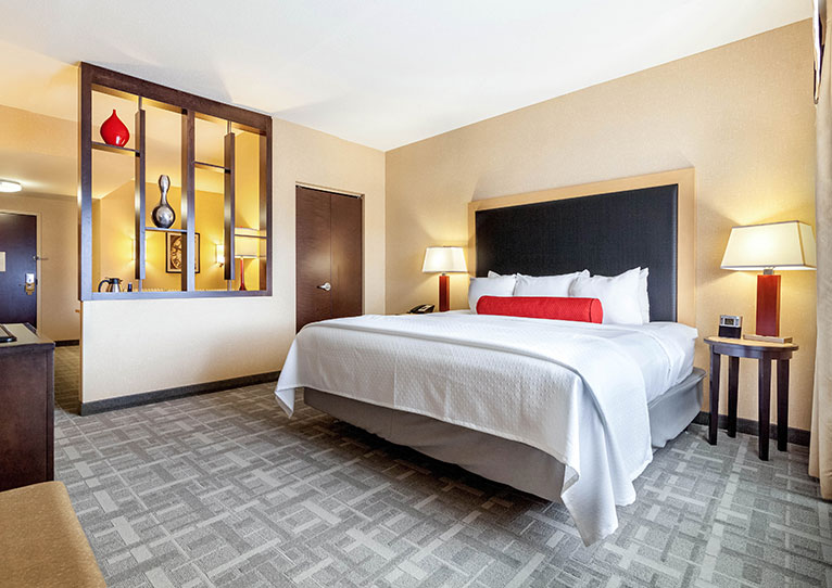One Bedroom King Accessible at Cambria Hotel Pittsburgh Downtown, Pennsylvania