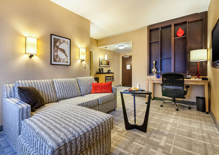 One Bedroom King Room at Cambria Hotel Pittsburgh Downtown, Pennsylvania