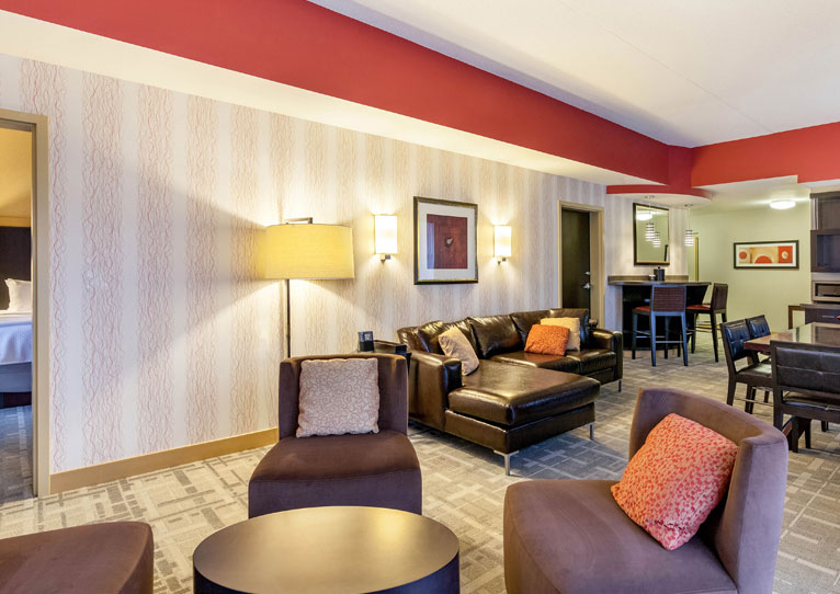 All Star Suite at Cambria Hotel Pittsburgh Downtown, Pennsylvania