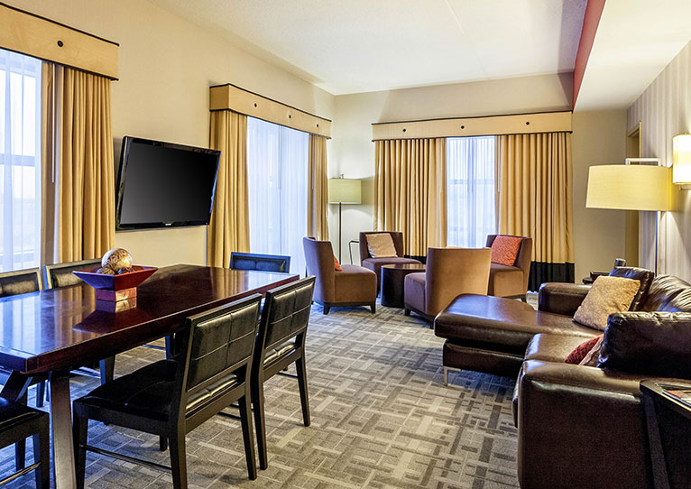 Crosby Suite at Cambria Hotel Pittsburgh Downtown, Pennsylvania