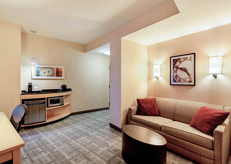 Malkin Suite at Cambria Hotel Pittsburgh Downtown, Pennsylvania